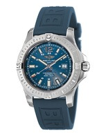 Breitling Colt 44 Automatic Blue Rubber Strap Men's Watch A1738811/C906-158S