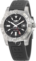 Breitling Avenger II GMT Black Rubber Strap Men's Watch A3239011/BC35-152S