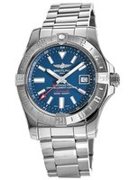 Breitling Avenger II GMT Blue Dial Men's Watch A3239011/C872-170A