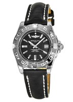 Breitling Galactic 32 Black Dial Leather Strap Women's Watch A71356L2/BA10-110