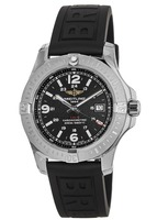 Breitling Colt 44 Quartz Black Rubber Strap Men's Watch A7438811/BD45-153S