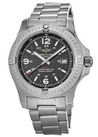 Breitling Colt 44 Quartz Black Dial Steel Men's Watch A7438811/BD45-173A