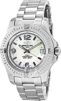 Breitling Colt 36 Mother of Pearl Dial Steel Women's Watch A7438911/A772-178A