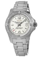 Breitling Colt 33 Quartz Silver Dial Steel Women's Watch A7738811/G793-175A