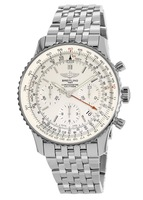 Breitling Navitimer Navitimer 01 (43mm) Limited Edition Silver Dial Steel Men's Watch AB012312/G756-447A