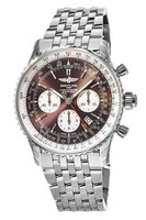 Breitling Navitimer Rattrapante Bronze Dial Stainless Steel Men's Watch AB031021/Q615-453A