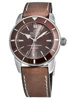 Breitling Superocean Heritage II Automatic 42 Bronze Brown Rubber-Leather Men's Watch AB201033/Q617-294S