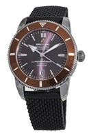 Breitling Superocean Heritage II Automatic 46 Copperhead Bronze Dial Black Rubber Strap Men's Watch AB202033/Q618-267S