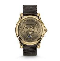 Emporio Armani Classic  Moonphase Bronze Dial Men's Watch ARS4203
