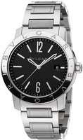 Bulgari   Black Dial Stainless Steel Men's Watch BB41BSSD