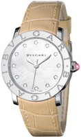 Bulgari   Mother of Pearl Diamond Dial Women's Watch BBL37WSL/12