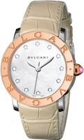 Bulgari   Rose Gold Mother Of Pearl Dial Women's Watch BBL37WSPGL/12
