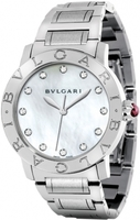 Bulgari   Mother of Pearl Diamond Dial Women's Watch BBL37WSS/12