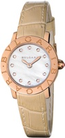 Bulgari   Mother of Pearl Diamond Dial Women's Watch BBLP26WGL/12