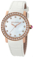 Bulgari   Automatic White Mother of Pearl Diamond Dial Women's Watch BBLP33WGDL/12