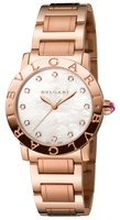 Bulgari   18K Rose Gold Mother of Pearl Dial Women's Watch BBLP33WGG/12