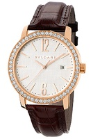 Bulgari   Rose Gold Diamond Automatic Men's Watch BBP40WGDLD