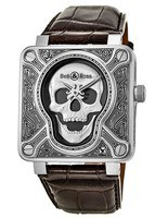 Bell & Ross   BR 01 Skull Burn Limited Edition Men's Watch BR0192-Skull-Burn