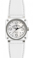 Bell & Ross Aviation  Automatic 42mm Men's Watch BR03-92-White-Ceramic