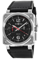 Bell & Ross BR 03-94 Black Steel  Men's Watch BR0394-BLC-ST/SCA