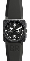 Bell & Ross Aviation  Chronograph 42mm Men's Watch BR03-94-Carbon