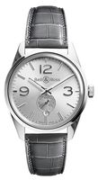 Bell & Ross Vintage   Men's Watch BR 123 Officer Silver