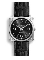 Bell & Ross Aviation   Men's Watch BRS92-BL-ST