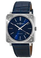 Bell & Ross Aviation   Unisex Watch BRS92-BLU-ST/SCR