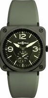 Bell & Ross Aviation   Men's Watch BRS-CERAM-MIL/SRB