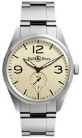 Bell & Ross Vintage  BR 126 Original Beige Steel Men's Watch BRV123-BEI-ST/SST