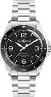 Bell & Ross BR V2-92  Black Steel Men's Watch BRV292-BL-ST/SST