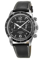 Bell & Ross BR V2-94 Black Steel Black Dial Men's Watch BRV294-BL-ST/SCA