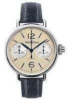 Bell & Ross Vintage  WW1 Chronographe Monopoussoir Ivory Men's Watch BRWW1-MONO-IVO/SCR