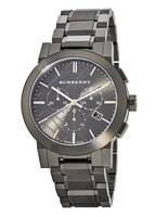 Burberry   Chronograph Dark Grey Dial Men's Watch BU9354