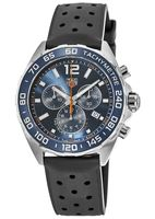 Tag Heuer Formula 1  Blue Dial Black Rubber Strap Men's Watch CAZ1014.FT8024-SD