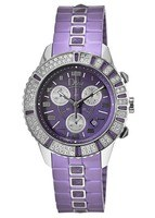 Dior Christal 38mm Chronograph Purple Dial Women's Watch CD11431JR001