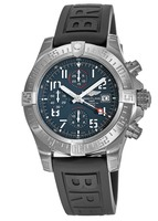 Breitling Avenger  Titanium Grey Dial Black Rubber Men's Watch E1338310/M536-152S