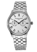Frederique Constant Classic  Silver Dial Stainless Steel Men's Watch FC-259WR5B6B