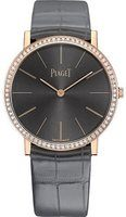 Piaget Altiplano  Grey Dial Grey Leather Strap Men's Watch G0A41105