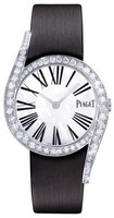 Piaget Limelight Gala Mother of Pearl Dial Diamond Black Satin Strap Women's Watch G0A41260