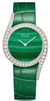 Piaget Limelight Gala Green Dial Diamond Green Leather Strap Women's Watch G0A43160