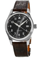 IWC Pilot's Mark XVIII Slate Grey Leather Strap Unisex Watch IW324001