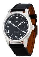 IWC Pilot's Mark XVIII Black Dial Leather Strap Men's Watch IW327001