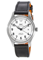 IWC Pilot's Mark XVIII White Dial Leather Strap Men's Watch IW327002