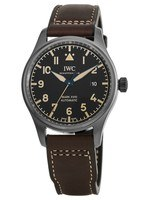 IWC Pilot's Mark XVIII Heritage Titanium Case Leather Strap Men's Watch IW327006