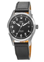 IWC Pilot's Mark XVIII Black Dial Black Leather Strap Men's Watch IW327009
