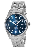 IWC Pilot's Mark XVIII Blue Dial Le Petit Prince Edition Steel Men's Watch IW327014