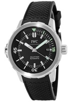 IWC Aquatimer Automatic Black Dial Rubber Strap Men's Watch IW329001