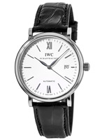 IWC Portofino Automatic Silver Dial Leather Strap Men's Watch IW356501