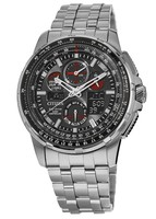 Citizen Promaster Skyhawk A-T  Black Dial Stainless Steel Men's Watch JY8050-51E